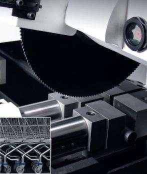 Дископильный станок с цанговой подачей RSA Rasacut CC90 фото