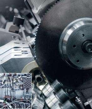 Дископильный станок для резки заготовок малых диаметров RSA Rasacut XS фото
