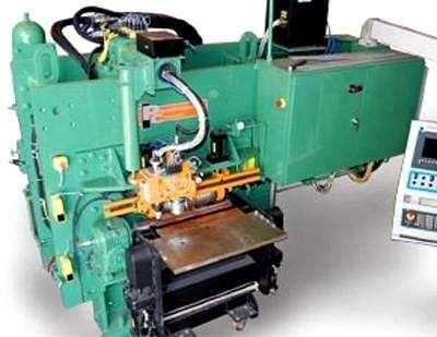 Автоматическая установка для обработки листа Peddinghaus FPB 500 фото