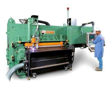 Автоматическая установка для обработки листа Peddinghaus FPB-1800 фото