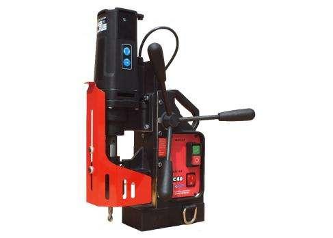 Магнитная сверлильная машина МС-40 фото