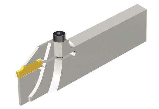 Упрочненное лезвие Taegutec TGBR 26-2TI-D36L с винтовым креплением, Ext. Grooving фото