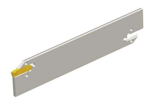 Лезвия Taegutec TGB 45-4 для отрезки и обработки канавок, Ext. Grooving фото