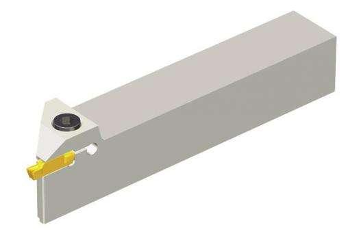 Державка Taegutec TGFR 2525-4 для обработки мелких канавок, Face Grooving & Turning фото