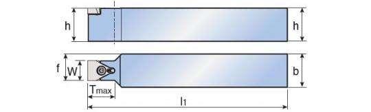 Державка Taegutec TTLEN 2525 M15 для получистовой обработки, Form Grooving фото 2